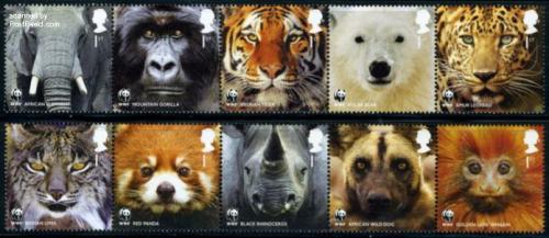 WWF, Animals 10v (2x[::::])