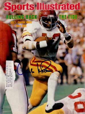 Charles White autographed USC Trojans 1978 Sports Illustrated