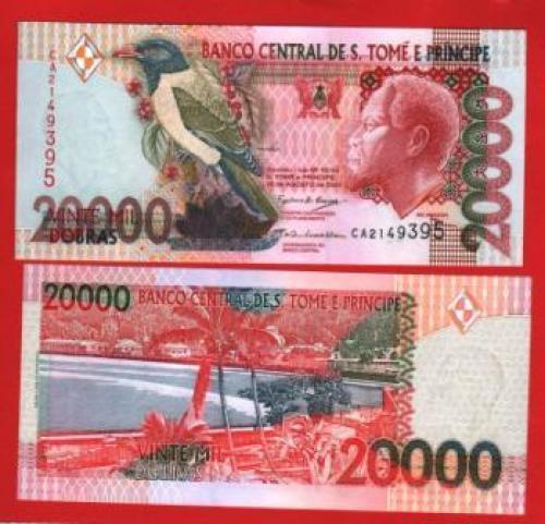Sao tome et prince 20.000d 2004 UNC