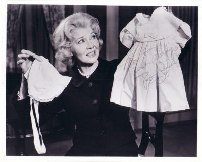 Penny Singleton autographed 8x10 photo (To Lou)