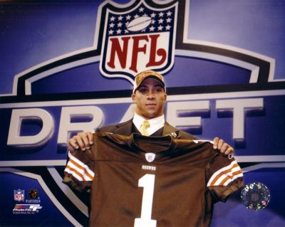 Kellen Winslow Jr. Browns 8x10 2004 NFL Draft photo