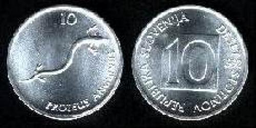 10 stotinov 1992-1995 (km 7)