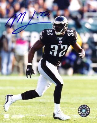 Michael Lewis autographed Philadelphia Eagles 8x10 photo
