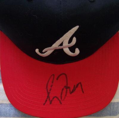 Greg Maddux autographed Atlanta Braves replica cap