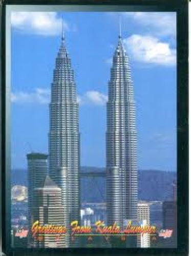 Malaysia Postcard: Petronas Twin Tower
