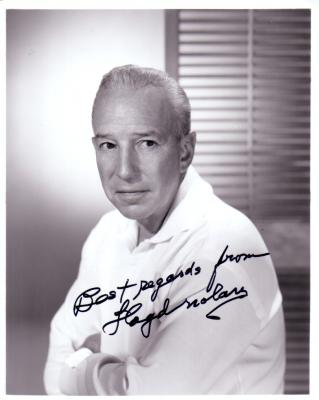 Lloyd Nolan autographed 8x10 photo