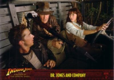 Indiana Jones and the Kingdom of the Crystal Skull promo card P4