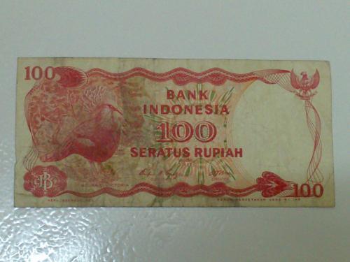 Indonesia Bank Note - 100Rupiah