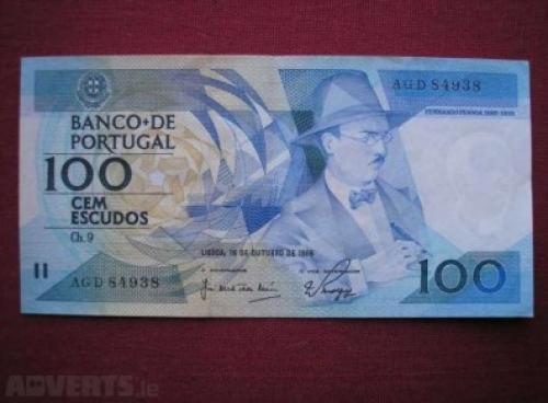 Portugal 100 escudos-1986