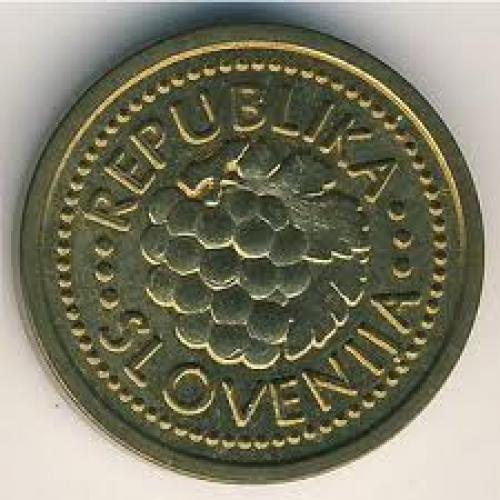 Coins; Slovenia, 0.02 lipe, 1992