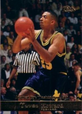 Juwan Howard Michigan 1994 Classic Gold card