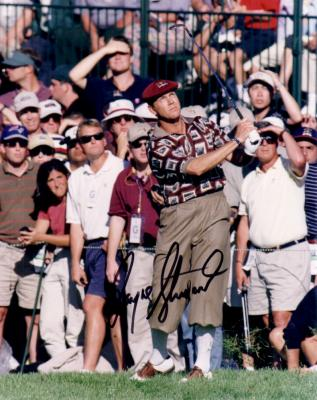 Payne Stewart autographed 1999 Ryder Cup 8x10 photo