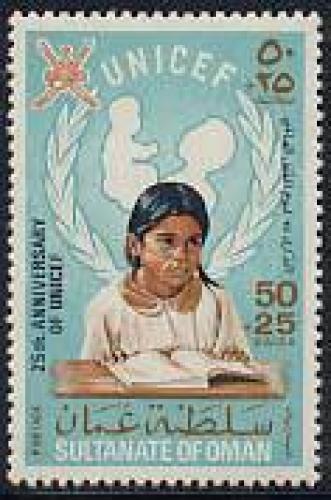 UNICEF 1v; Year: 1971