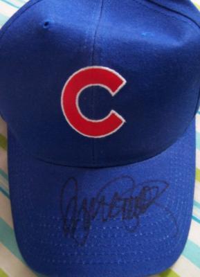 Ryne Sandberg autographed Chicago Cubs cap or hat