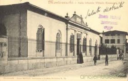 Postcard Italy; Montevarchi Italian School