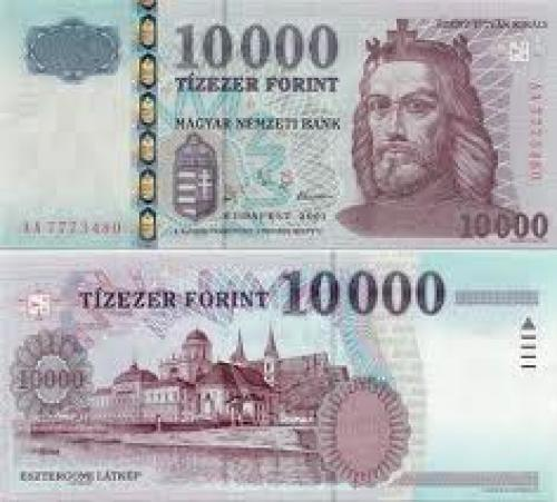Banknotes; 10000  Forint - Hungarian Currency Bank Note