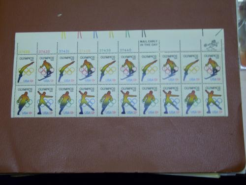 United States '76 Olympics Stamps