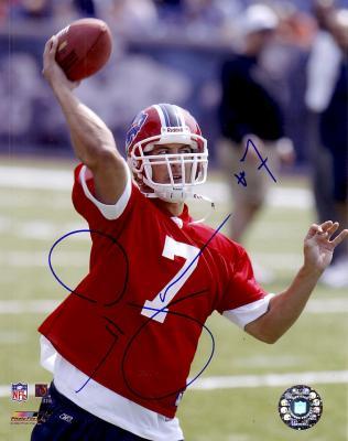 J.P. Losman autographed 8x10 Buffalo Bills photo