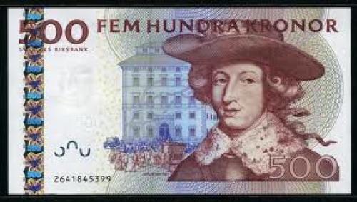 Banknotes Sweden  500 Kronor, 2001