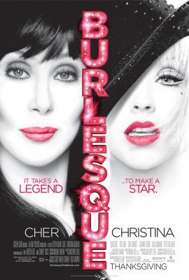 Burlesque 2010 mini movie poster (Christina Aguilera Cher)