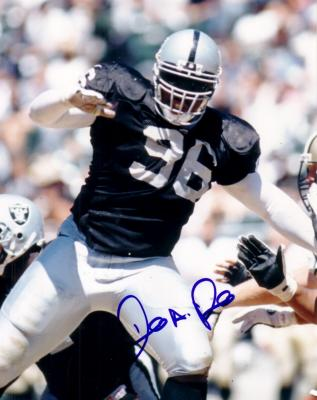 Darrell Russell autographed Oakland Raiders 8x10 photo
