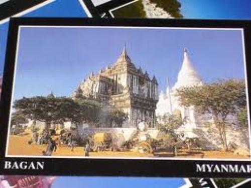 Postcard choices in Myanmar where abysmal