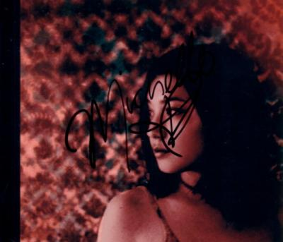 Michelle Branch autographed CD insert