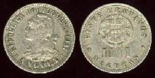 20 centavos 1927-1928 (km 68)