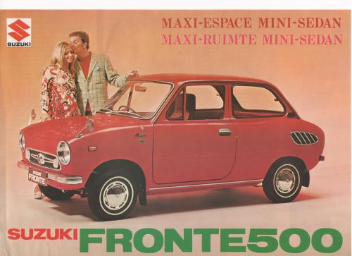 brochure SUZUKI FRONTE 1973