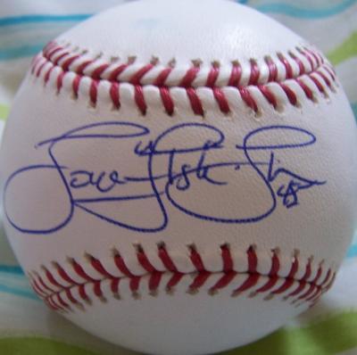 Tom Gordon autographed MLB baseball