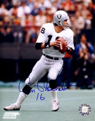 Jim Plunkett autographed Oakland Raiders 8x10 photo