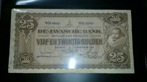 25 Gulden JP Coen 1925