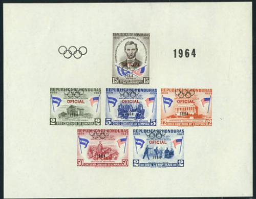 Olympic Games, on service s/s; Year: 1964
