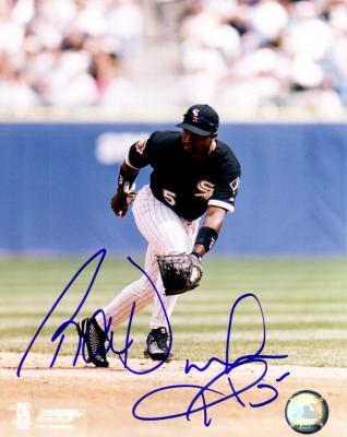Ray Durham autographed 8x10 Chicago White Sox photo