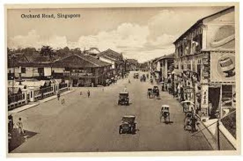 Orchard Road Postcard at Singapore Philatelic Museum