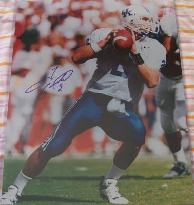 Tim Couch autographed Kentucky 16x20 poster size photo