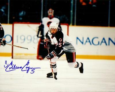 Colleen Coyne autographed 1998 USA Hockey 8x10 photo