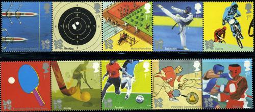 London olympics 10v (2x [::::])