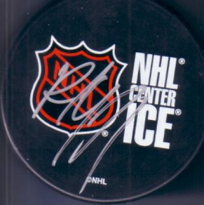 Paul Coffey autographed NHL Center Ice puck