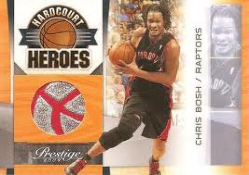 Basketball Card; Chris Bosh; 2009-10 Panini Prestige basketball cards