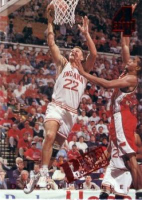 Damon Bailey Indiana 1994 Classic 4-Sport Printer's Proof insert card