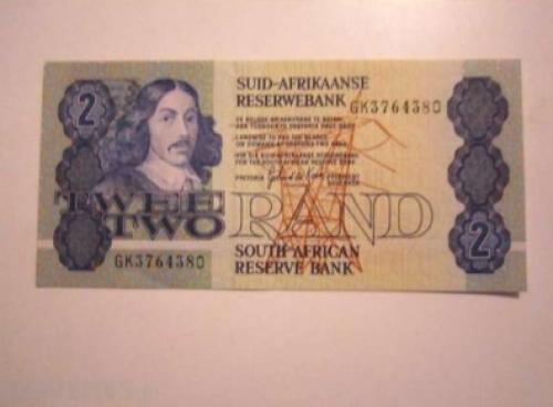 South Africa - 2 - Rand - 1983 - '90