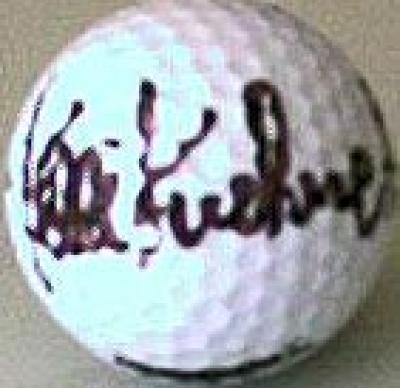 Kelli Kuehne (LPGA) autographed golf ball