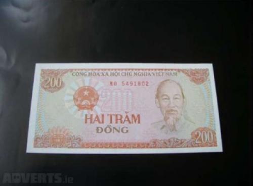 200 dong - vietnam-1987