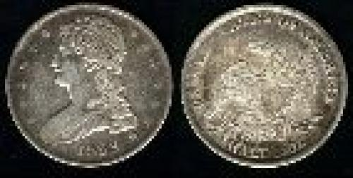 50 cents; Year: 1836-1839; Capped Bust reeded edge