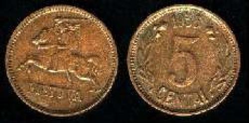 5 centu 1936 (km 81)
