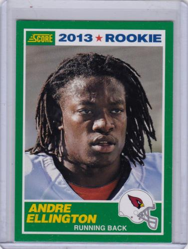 2013 SCORE ROOKIE CARD SP ANDRE ELLINGTON RC
