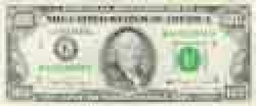 100 dollars; Regular issues; (1964-1993)