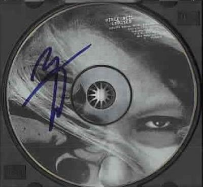 Vince Neil autographed Exposed CD
