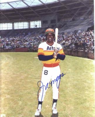 Joe Morgan autographed Houston Astros 8x10 photo